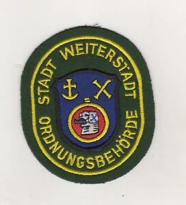 Uniforme-Autoridades-Parche-Ciudad-Weiterstadt-Ordnungsbehorde-Ordnungsamt