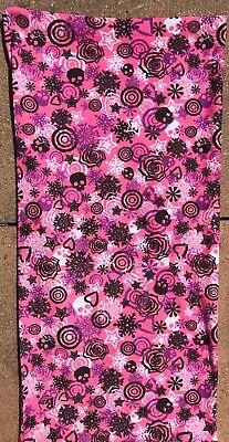 Fashion Style Tubo Ragazza Sciarpa Rosa Circa 22x47 Cm-mostra Il Titolo Originale