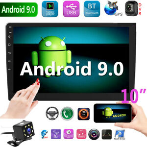 10-034-2-Din-Android-9-0-Car-MP5-Player-Pantalla-Tactil-Radio-Estereo-GPS-WIFI-Cam