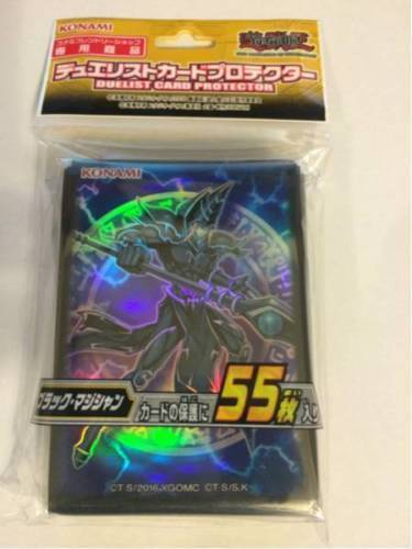 Yu-Gi-Oh Card Protector Dark Magician Sleeve KONAMI OFFICIAL FAST