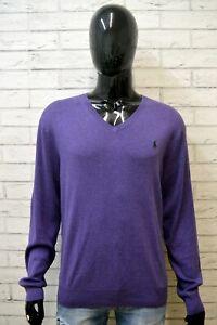 RALPH-LAUREN-Maglione-Uomo-Taglia-XL-Pullover-Maglia-Sweater-Man-Cardigan-Felpa