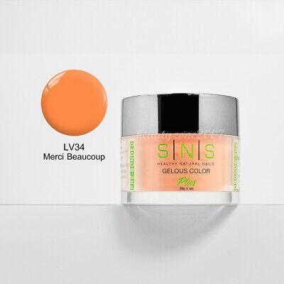 SNS Nail Dipping Powder LV34 - Merci Beaucoup 1oz ...