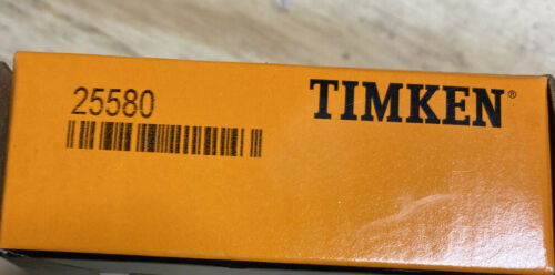 Timken 25580 Tapered Roller Cone Bearing Genuine Sealed New