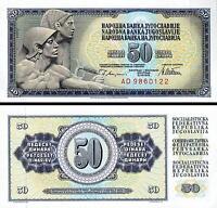YUGOSLAVIA 50 DINAR 1978 UNC P.89a