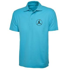 5f140a352e6 La imagen se está cargando Logotipo-de-Michael-Jordan-camisa-Polo-Top-Polo-