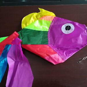 Fish-Wind-Sock-Windsock-Garden-Tent-Festival-Flag-Pole-Outdoor-Tool-75-30cm-bz3