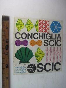 CATALOGO COMMERCIALE SCIC CONCHIGLIA PARMA 1973 CUCINE LAMINATO ...