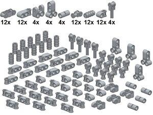 Lego-Technic-Small-Parts-M28-Verbinder-Neues-Hellgrau