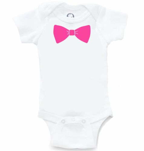 Bow Tie Funny Formal Onesie Cute Silly Baby Shower Gift Infant Bodysuit Creeper