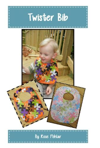 TWISTER BIB Rose Pohlar  Quilting Sewing  Pattern aTwister Pattern