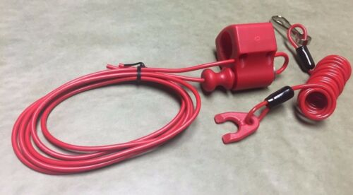 CAN-AM DS250 2007–2018 Tusk Pull Tether Kill Switch RED Engine Safety Stop
