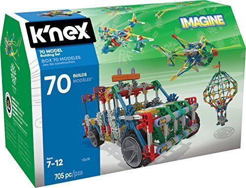KNEX Imagine Imagine Imagine 70 Model Building Set For Ages 7, Engineering Education Jouet, 705 c40a83