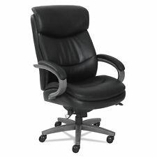 La Z Boy Woodbury Big And Tall Executive Chair Black 48961a