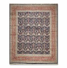 9x12 Hand knotted 300 kpsi Persian Tabriz Oriental Area Rug Carpet Wool New