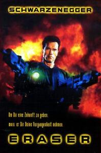 Eraser-VHS-VIDEO-Arnold-Schwarzenegger-James-Caan-Vanessa-L-Williams-Jam