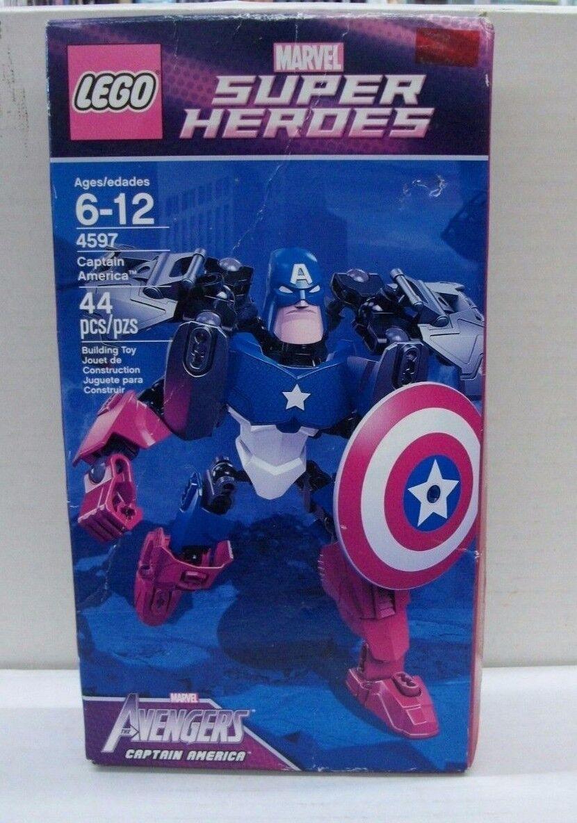 Marvel - superhelden  captain america lego - versiegelt