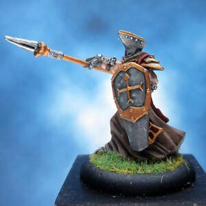 Painted-Privateer-Press-Miniature-Flameguard-Leader