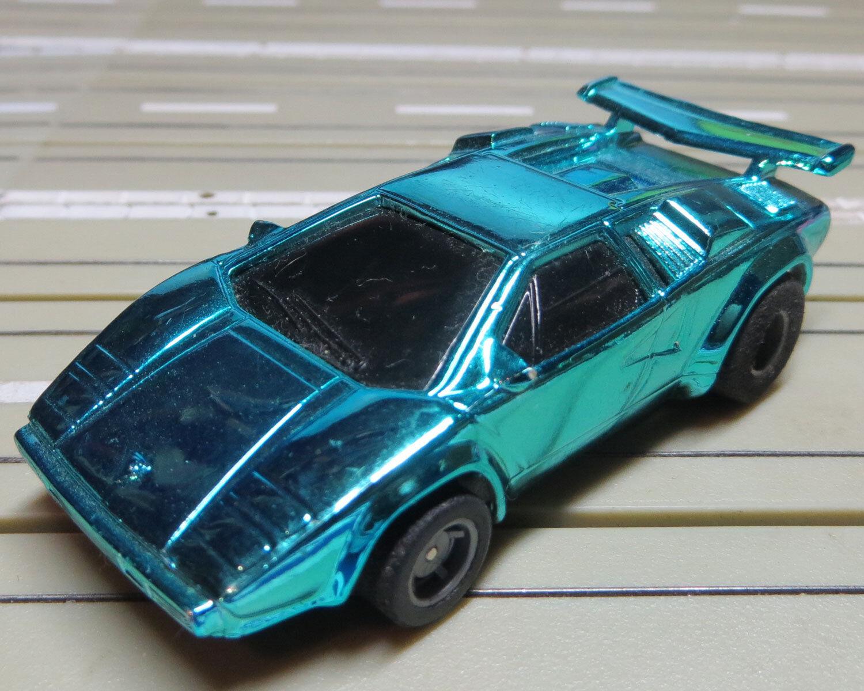 For H0 slotcar racing Model Railway - Lamborghini from Tyco