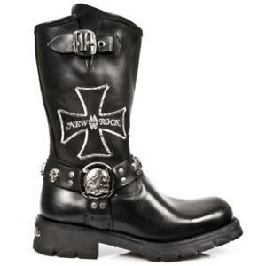 7622 New High s1 Chico Rock M Nr Biker Boot da Calzado uomo Ricamato PY7w8Y