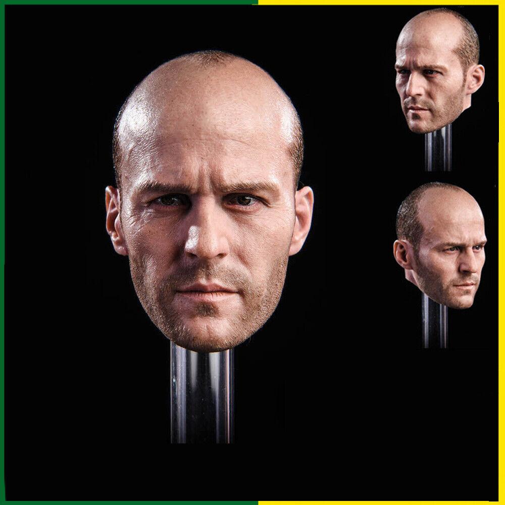 1 6 Scale GACtoys GC023 Jason Statham Male Head Sculpt For 12  PHICEN Figure