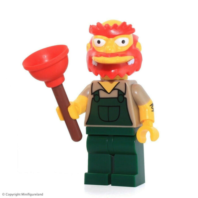 The Simpsons Series 2 LEGO Collectible MiniFigure #13 Groundskeeper Willie