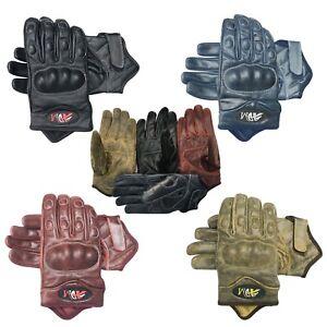 Full-finger-motorbike-motorcycle-summer-winter-sports-gloves-crunch-leather-9004