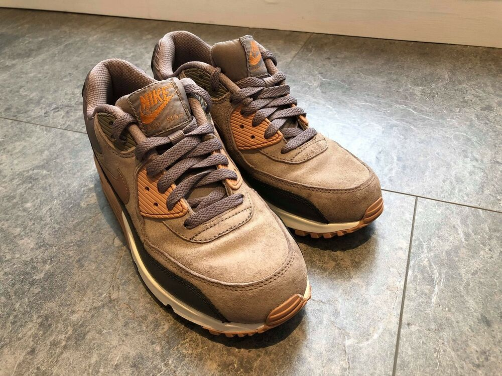 Femme Nike Air Max Taille UK 5 38 NO BOX Brown Used Japon-