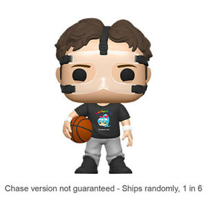The Office Dwight Schrute Basketball Pop! Vinyl Toy Figure Chase Ships 1 in 6