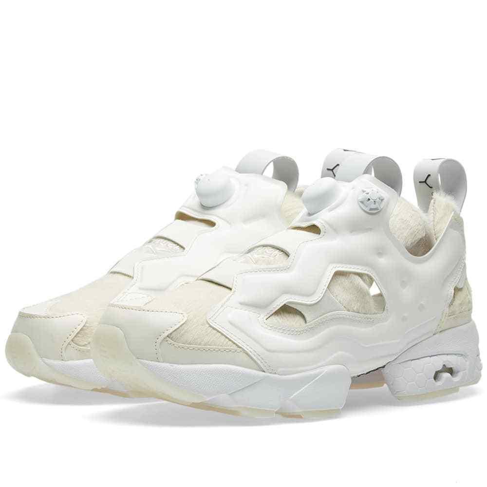 Reebok X Sneakerboy InstaPump Fury Size 11.5 Bianco White & Chalk BD2369