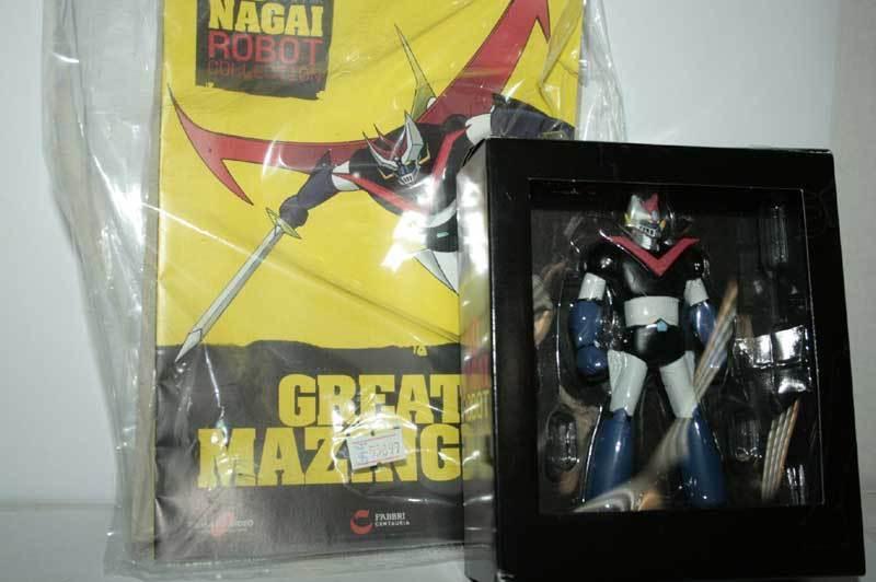 GO NAGAI ROBOT COLLECTION SORTIE n. 47S SPÉCIALE GREAT MAZINGER GM4 55899