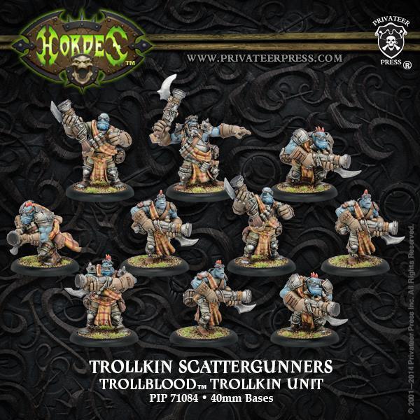 Trollkin Scattergunners Trollblood Trollkin Unit by Privateer Press PIP 71084