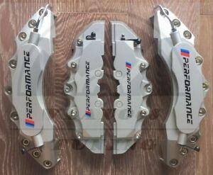 Silver Bmw Brake Caliper Covers For Bmw X2 X3 120d 220d 520d F30 2013 320i Ebay