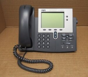 Image is loading Cisco-CP-7941G-7941G-7941-VoIP-IP-Business-