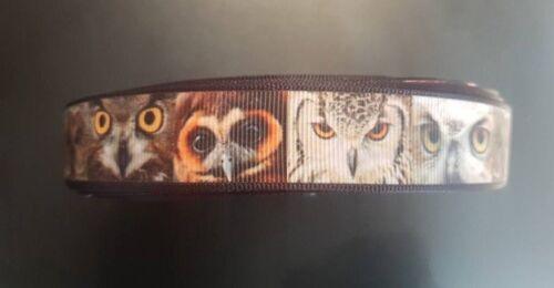 Webband 3726 Eulen 22mm Breite Ripsband Borte