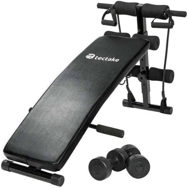 Banco de musculación abdominales banco de pesas ejercicio fitnessplegable