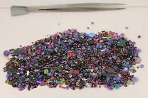 Edelstein-lose-Konvolut-ca-820-ct-Opal-Granat-Lapislazuli-Granat-Amethyst-uvm