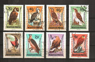 Professionelles Design europa:17635 Ungarn Michelnummer 1881-1888 Gestempelt