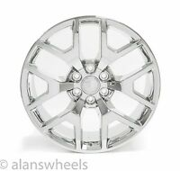 "4 Cadillac Escalade Esv Ext Chrome 22"" Wheels Rims Lugs Free Shipping 5656"