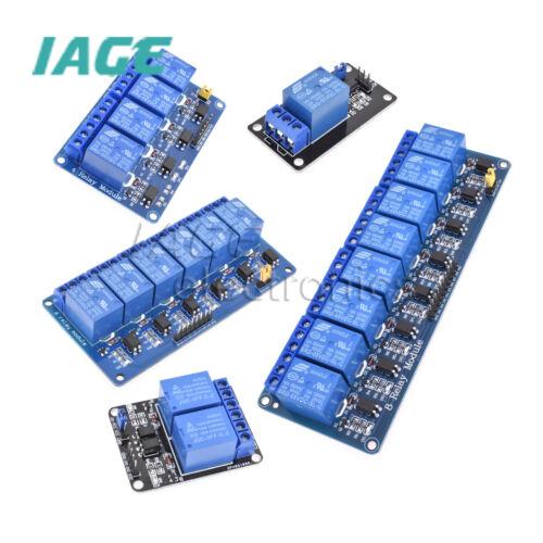 5V 1//2//4//6//8 Kanal Relay Tafel Modul Optokoppler LED for Arduino PiC ARM AVRC