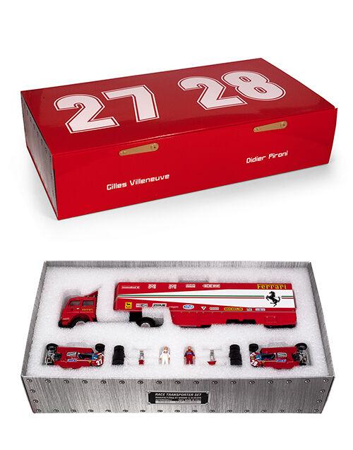 Brumm Brumm Brumm MODELS 1/43 1981 Ferrari 126CK Fiat 170 Transporter Set Monaco GP Set | Sélection Large  | Vente En Ligne  ad128e