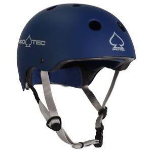 Protec Classic Bike Certified Helmet Matte Blue Extra Large Pro-Tec