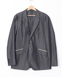PS-Paul-Smith-Herren-M-42-Merino-Mohair-Blend-technische-Travel-Blazer-Jacke
