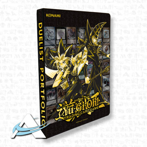GOLDEN DUELIST ALBUM • Portfolio Raccoglitore 180 Carte Yugioh