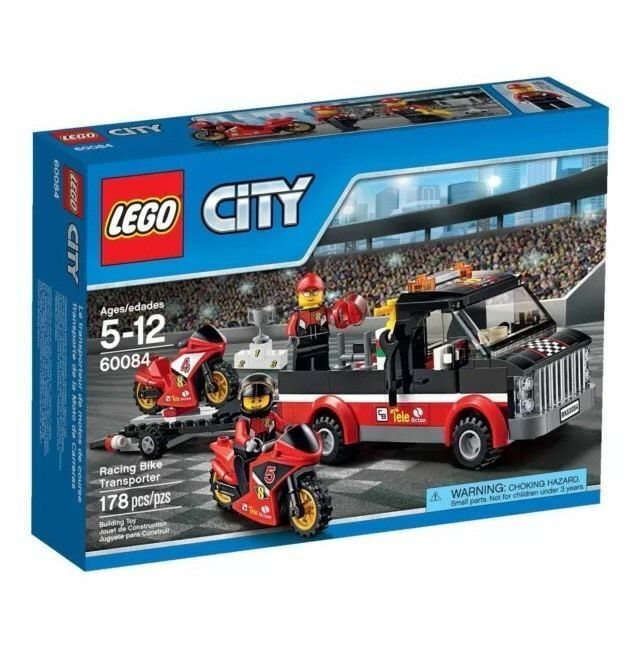 60084 RACING BIKE TRANSPORTER lego lego lego NEW town CITY legos set MOTORCYCLE vehicle 2a069d