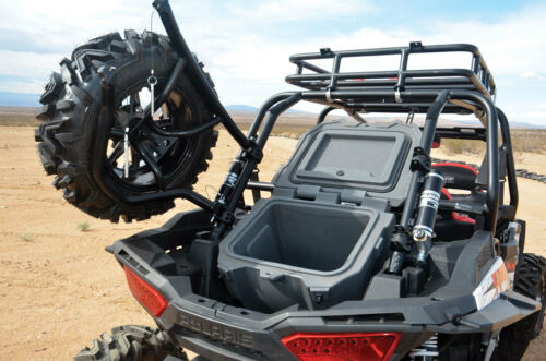 2014-19 Polaris Razor RZR 1000 XP rear spare tire mounting rack holder frame