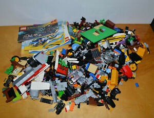 LEGO-PARTS-LOT-3-5-LBS-amp-INSTRUCTIONS-LORD-OF-THE-RINGS-CITY-FRIENDS-CREATOR