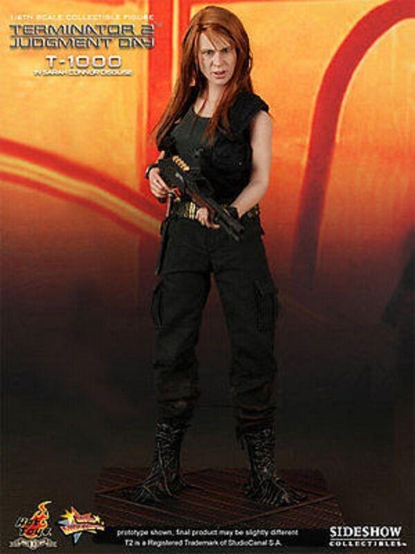 Hot Toys T-1000 de  Sarah Connor DéguiseHommest Terminator 2 JudgeHommest Day figure 1 6  réductions incroyables