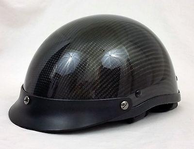 HCI 100 Shorty Black & Gray Motorcycle Half Helmet DOT Approved Adult Medium