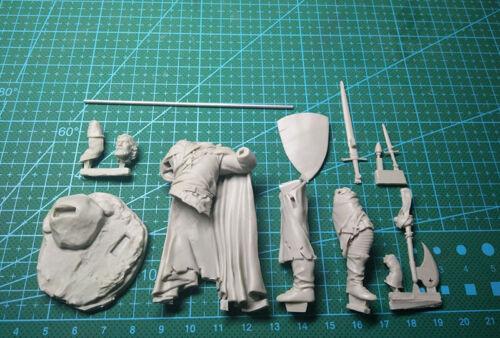 1//24 75mm Resin Knights Templar W//Base Unassembled Unpainted