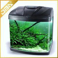 Nano Tank - Aquarium - Fish Tank 15L,28L,48L,75L LED Lights Internal Filter